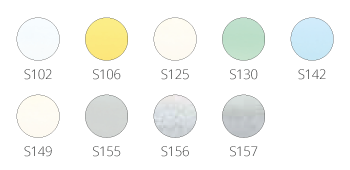 Color pallette Venetian Blinds